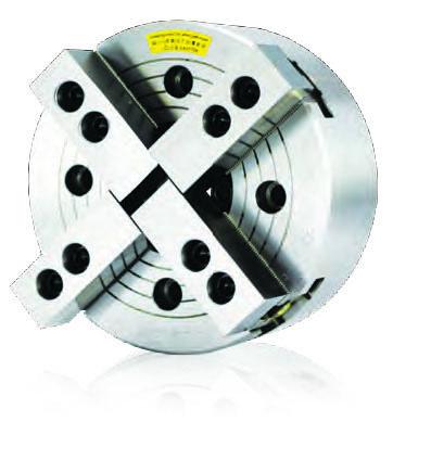 Фото 4-х кулачковый токарный патрон с проходным отверстием (без фланца) D=169мм / NIT-206 autostrong