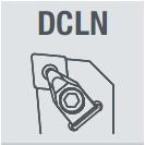 Фото Державка токарная DCLNL2020K12  Левая nikkotools