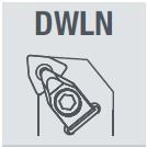 Фото Державка токарная DWLNL2020K06  Левая nikkotools