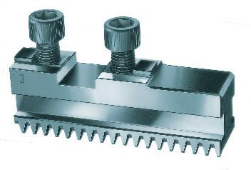 Фото Комплект кулачков (рейки) для токарного патрона 3 RÖHM DURO-T, Ø=200 mm-RO-94005 rohm