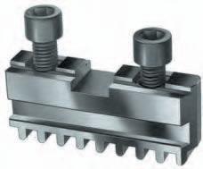 Фото Комплект кулачков (рейки) для токарного патрона 3 RÖHM, Ø=160 mm-RO-107503 rohm
