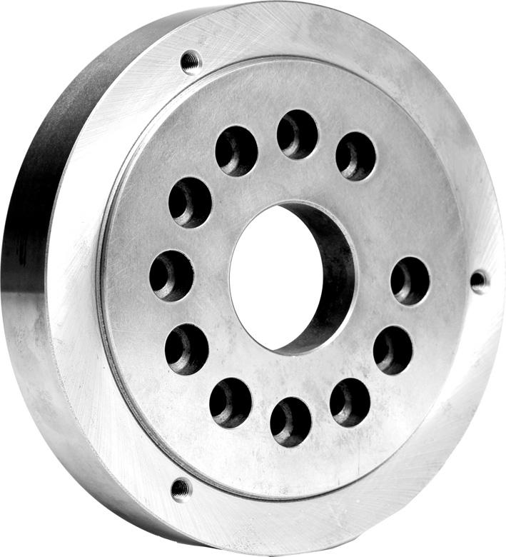 Фото Планшайба для токарных патронов, D=125 mm, Kk 3-ZE-FV6-125/3 zentra