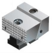 Фото Подвижные губки для тисков станочных F611 - 50 mm, serrated-ZE-MFS-50RB zentra