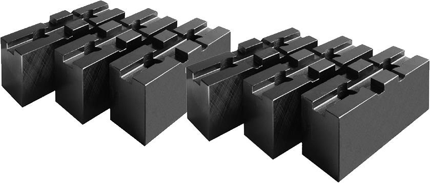 Фото Кулачки накладные мягкие (Bison и Zentra) d=315 mm-ZE-WAB38-315 zentra