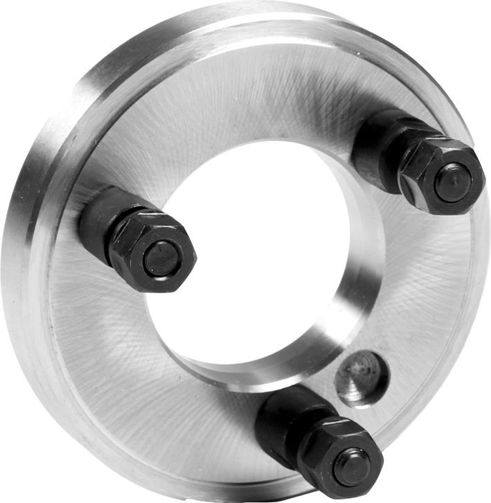 Фото Планшайба для токарных патронов D=400 mm, Kk 6-ZE-FP7-400/6 zentra