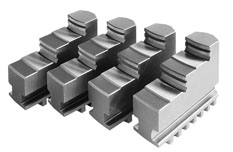 Фото Прямые ступенчатые кулачки для токарного патрона 4, d=200 mm-ZE-BB36-200 zentra