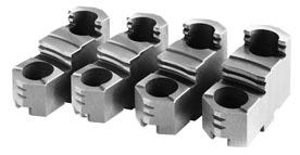 Фото Закаленные обратные кулачки накладные для токарного патрона 4, d=200 mm-ZE-HAB36-200 zentra