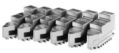 Фото Кулачки ступенчатые обратные цельные для токарного патрона 6 , d=250 mm-ZE-DB38-250 zentra