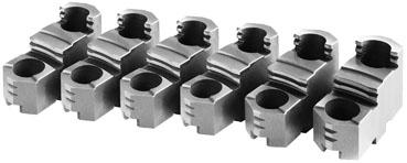 Фото Закаленные обратные кулачки накладные для токарного патрона 6, d=400 mm-ZE-HAB38-400 zentra