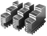 Фото Комплект обратных ступенчатых кулачков для токарного патрона 3, D=500 mm-ZE-DB35-500 zentra