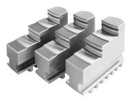 Фото Кулачки ступенчатые прямые для токарного патрона 3, d=160 mm-ZE-BB35-160 zentra