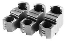 Фото Закаленные ступенчатые обратные кулачки накладные для токарного патрона, d=200 mm-ZE-HAB35-200 zentra