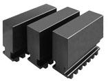 Фото Кулачки мягкие цельные комплект для токарного патрона 3, d=160 mm-ZE-MB35-160 zentra