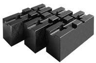 Фото Мягкие накладные кулачки для токарного патрона 3, d=250 mm-ZE-WAB35-250 zentra